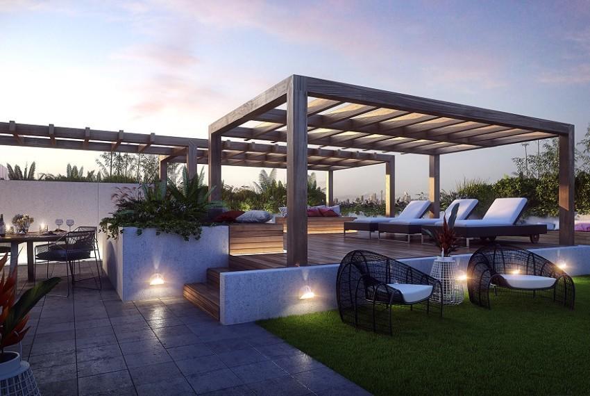 Park Lane - Landscaped Rooftop